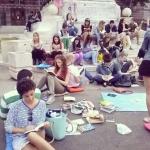 9 Čitanje na Trgu Republike, jun 2014